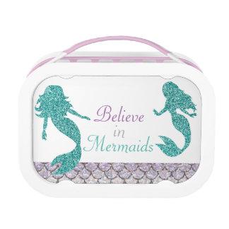 Mermaid Lunch box, Girls School Lunch box