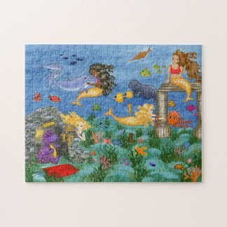 Mermaid Magic Puzzle