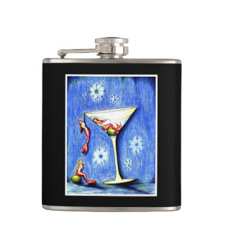 Mermaid Martini Hip Flask
