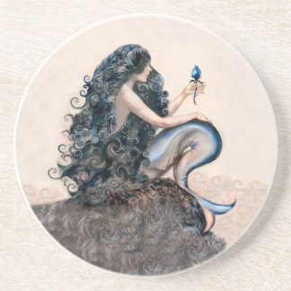 Mermaid Mermaids Fantasy Myth Coaster