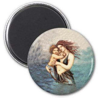 Mermaid Mermaids Fantasy Myth Magnet