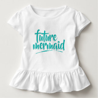 Mermaid Mom And Daughter (Daughter) Toddler T-shirt