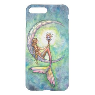 Mermaid Moon Fantasy Art iPhone 7 Plus Case