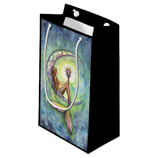 Mermaid Moon Fantasy Art Small Gift Bag