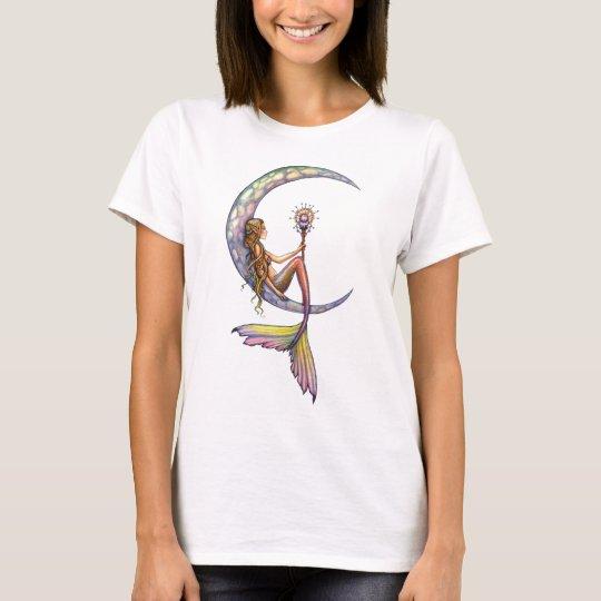 Mermaid Moon Fantasy Art Tank Top