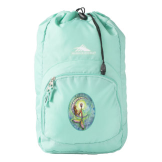 Mermaid Moon Mystical Fantasy Art Backpack