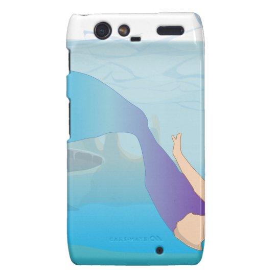 Mermaid Motorola Droid RAZR Case
