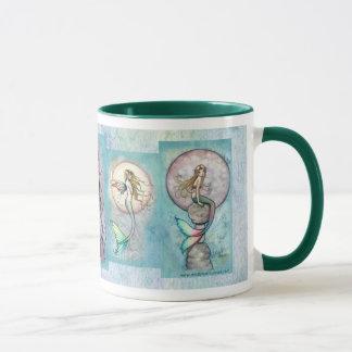 Mermaid Mug by Molly Harrison