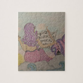 Mermaid Music Jigsaw Puzzle