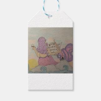 Mermaid Music Pack Of Gift Tags