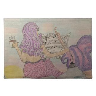 Mermaid Music Placemat