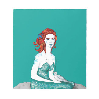 Mermaid Notepad