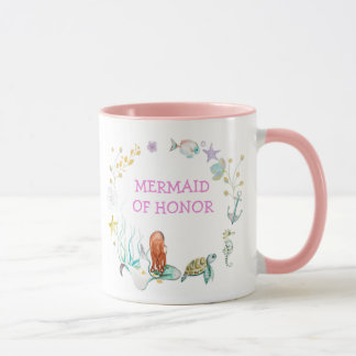 Mermaid of Honor Mug