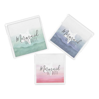 Mermaid Off Duty Tray Set