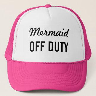 Mermaid Off Duty Trucker Hat