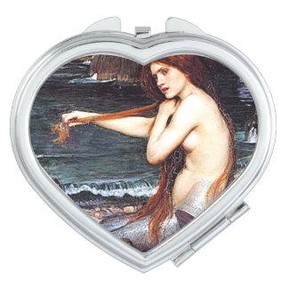 Mermaid On The Shore Vanity Mirror