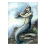Mermaid Pack Of Chubby Business Cards