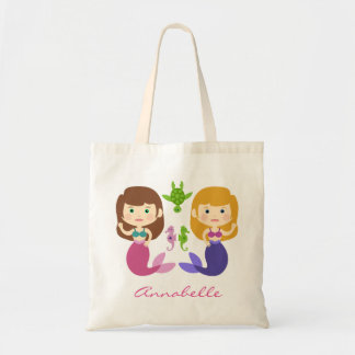 Mermaid Pals Tote Bag