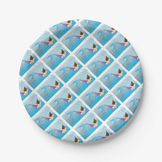 Mermaid Paper Plate