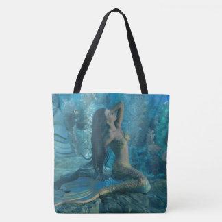 Mermaid Paradise Tote Bag
