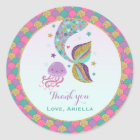 Mermaid Party Favour Tag Under The Sea Favour Tag