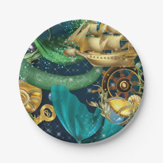 Mermaid Party Plates