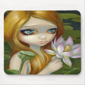 """Mermaid Picking Lotus Blossoms"" Mousepad"