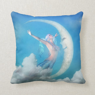 Mermaid Pillow - Under the Moon Mermaid Pillows