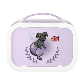 Mermaid Pit Bull 2 Lunch Box