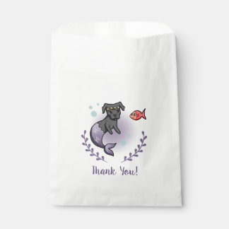 Mermaid Pit Bull 2 Thank You Favour Bag