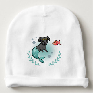Mermaid Pit Bull Baby Beanie