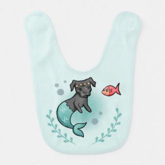 Mermaid Pit Bull Bib