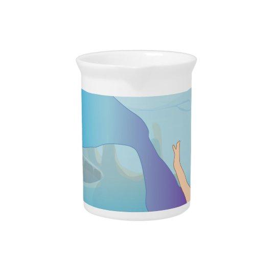 Mermaid Pitcher