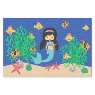 Mermaid Pool Party Tissue Paper