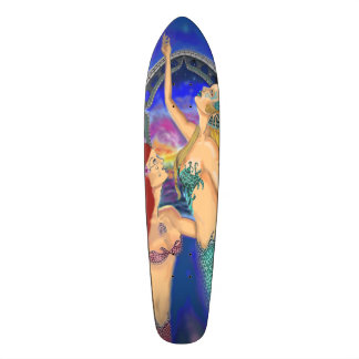 Mermaid Portal Digital Sunset Skate Board Decks