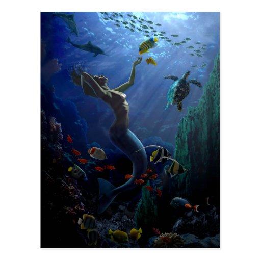 Mermaid Postcards