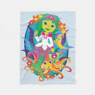 Mermaid Princess Doctor Fleece! Fleece Blanket