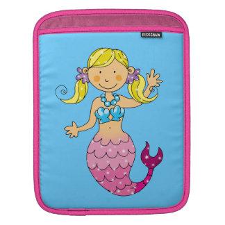 mermaid princess iPad sleeve