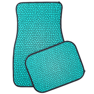 Mermaid Print Design Car Mats