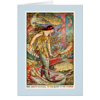 Mermaid Queen of the Fishes, Card