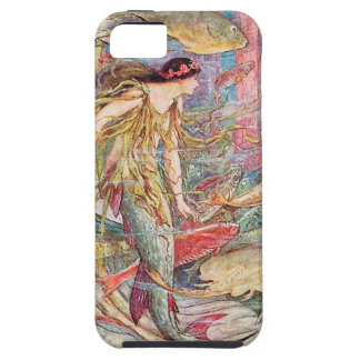 Mermaid Queen of the Fishes iPhone 5 Cases