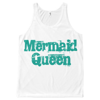 Mermaid Queen Tank Top for Mermaids of all ages!