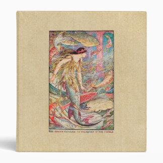 Mermaid Queen - The Orange Fairy Book 3 Ring Binders
