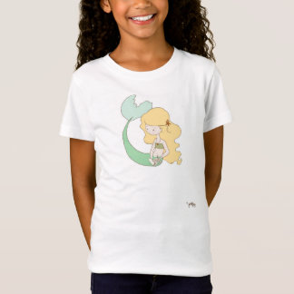 Mermaid Reading T-Shirt