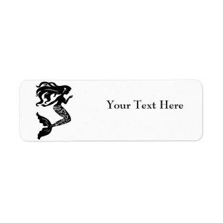 Mermaid Return Address Labels
