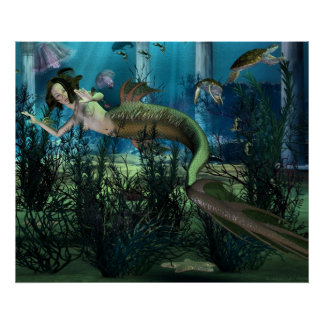 Mermaid Sanctuary Poster