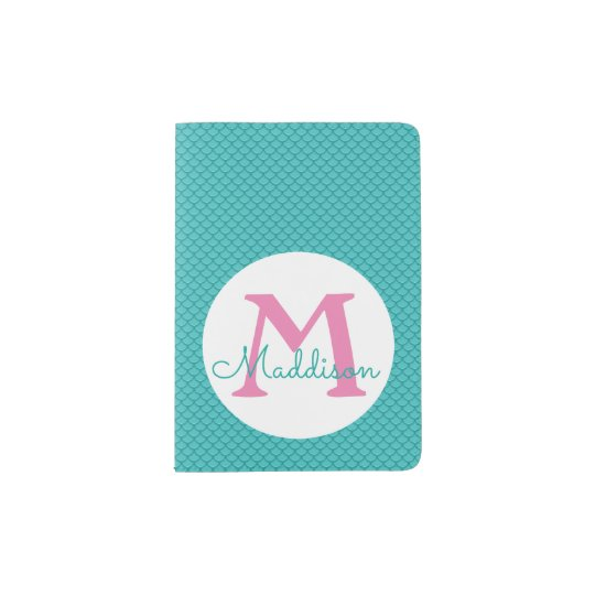 Mermaid Scales Passport Holder