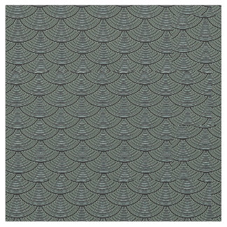 mermaid scales Thunder_Cove black/grey Fabric