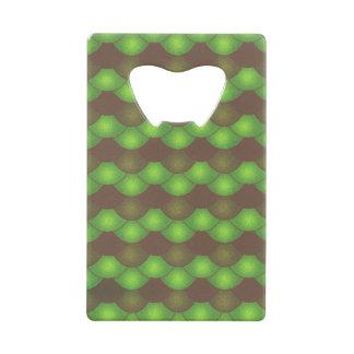 Mermaid Scales - Toxic Green Wallet Bottle Opener