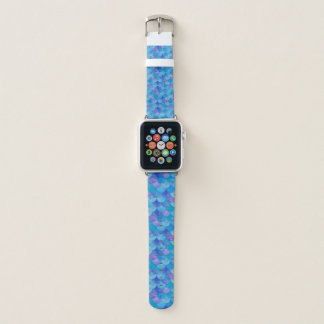 Mermaid Scales Vibrant WC Multi 1 Apple Watch Band